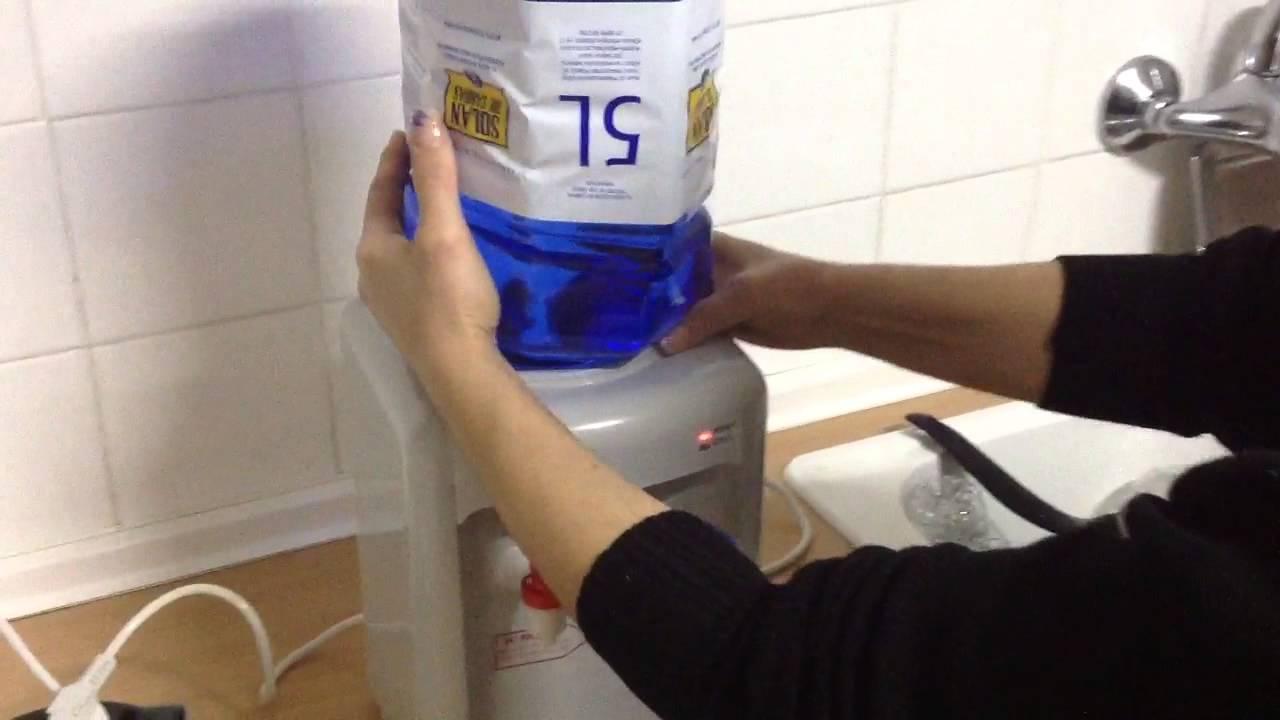Elegant Colocar Correctamente La Botella En El Dispensador De Agua   YouTube