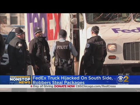 Mick Lee - FedEx Truck Stolen In Chicago