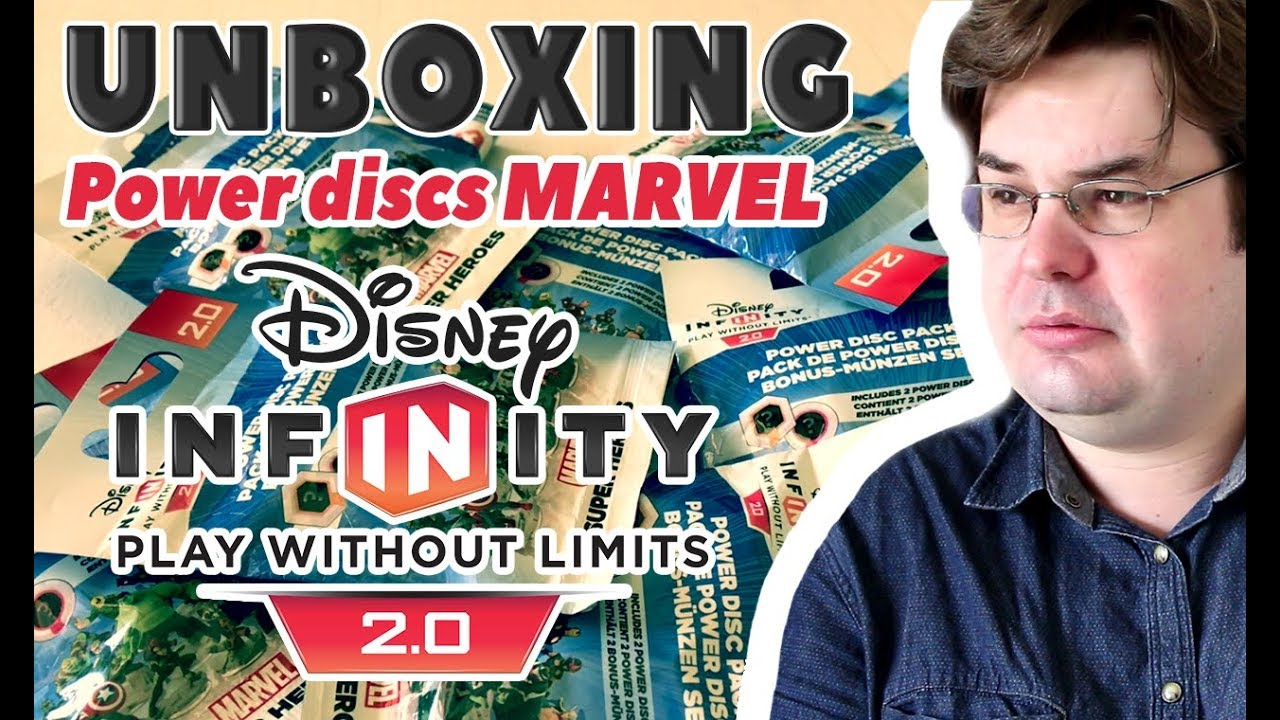Unboxing Power Discs Disney Infinity 20 Marvel Superheroes Youtube