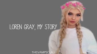Loren Gray - My Story (Lyrics | Lyric Video)
