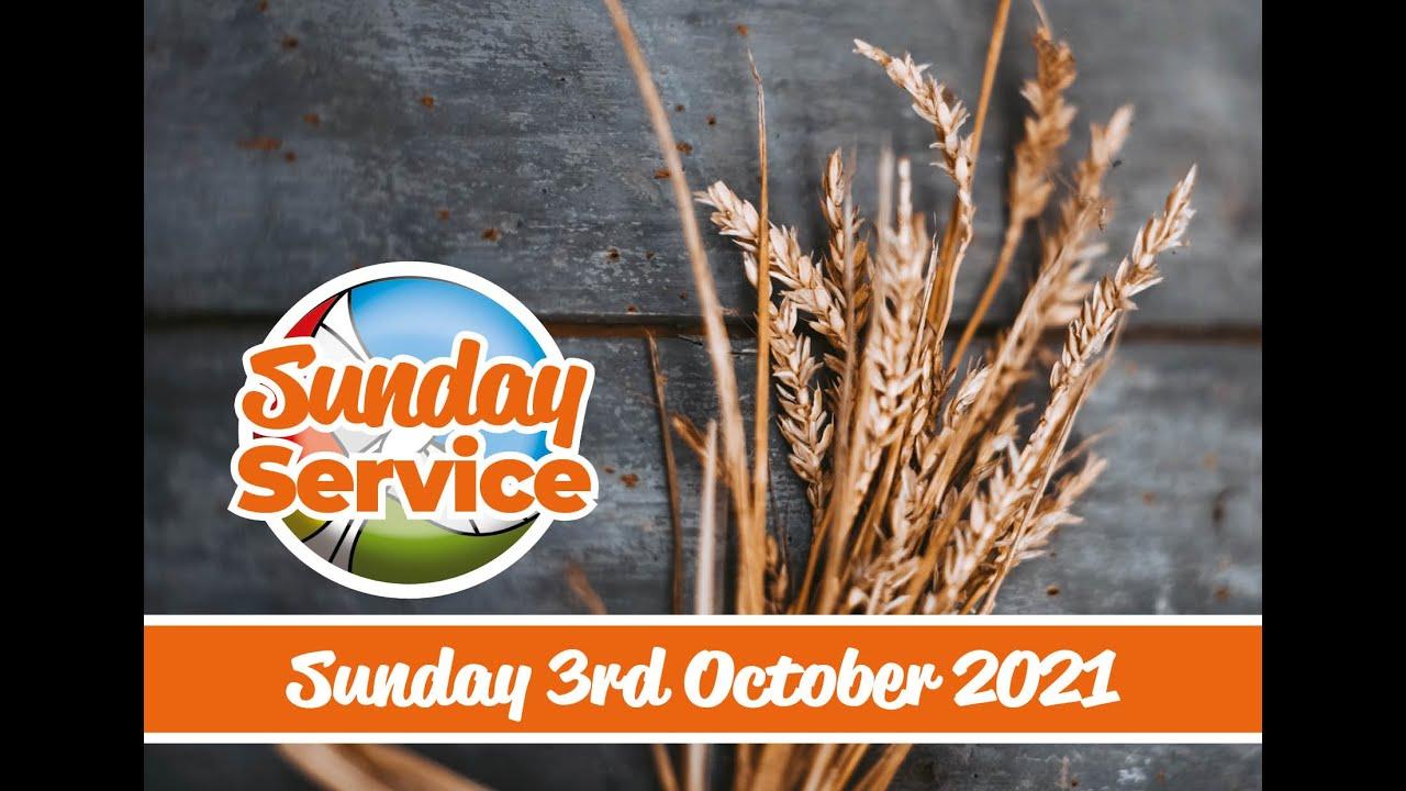 Harvest Sunday 3rd October 2021