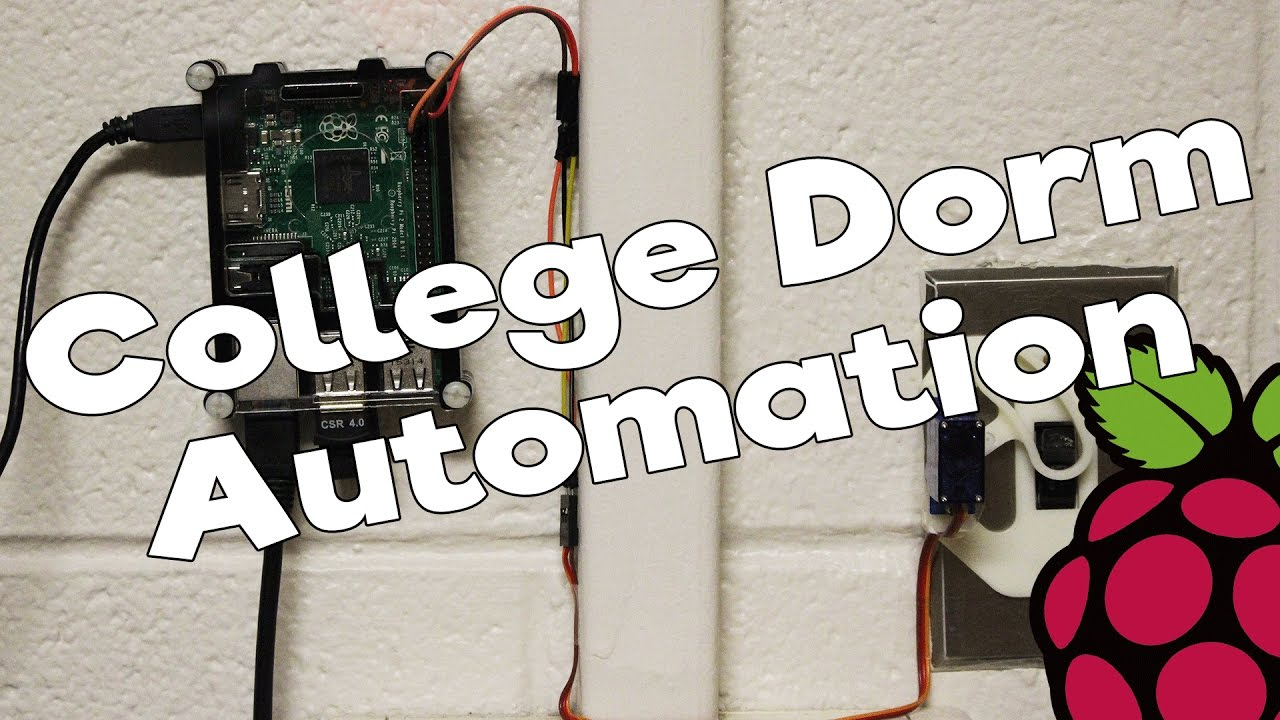 College Dorm Inventions - Remote Light Switch (Raspberry Pi Project ...