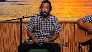 """Blue Hawaiian Moonlight"" @SlackKeyShow Kevin Brown & Geri Valdriz"