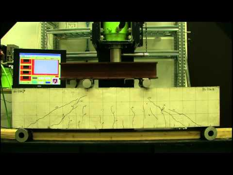 Shear Resistance of Reinforced Concrete Beams Without Stirrups - a/d = 1.86