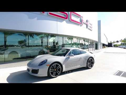 2018 Chalk Porsche 911 Carrera 370 hp @ Porsche West Broward