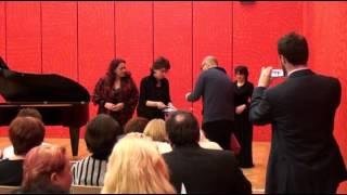 Křest CD Songs Lieder Písně /Anda Louise Bogza, Galina Aleshkevich