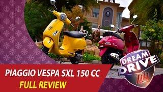 150cc Vespa SXL150 Test Drive