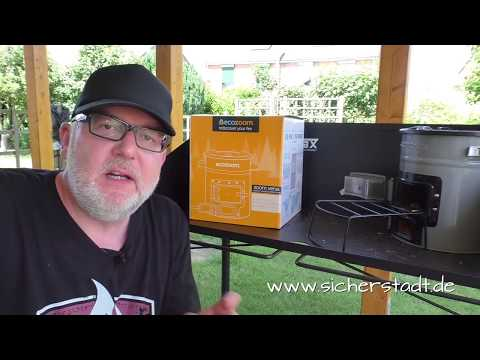 EcoZoom Versa Raketenofen Produktvorstellung + Golden-Milk-Rezept