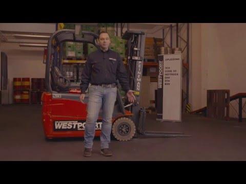 Westpoort heftruck/reachtruck cursus Deel 2