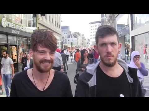 Brussels youth give a personal message on the employment situation in Europe