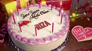 İyi ki doğdun RIZA - İsme Özel Doğum Günü Şarkısı
