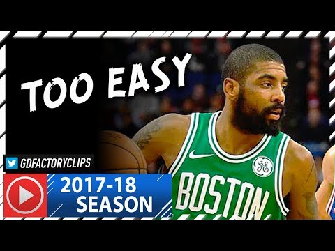Kyrie Irving Full Highlights vs Sixers (2018.01.11) - 20 Pts, 7 Ast, 6 Reb in London!