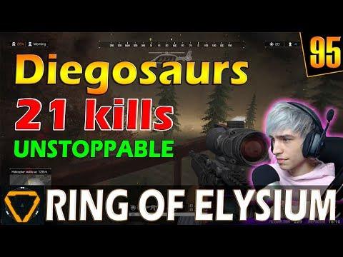 Diegosaurs | 21 kills | ROE (Ring of Elysium) | G95
