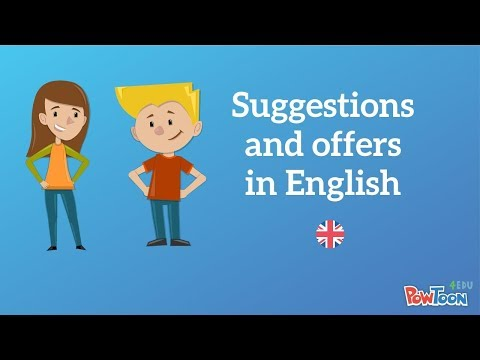 How to Make Suggestions and Offers in English