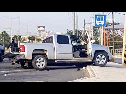 Balacera en Reynosa colonia Bugambilias, carretera a Monterrey 25 Julio 2018