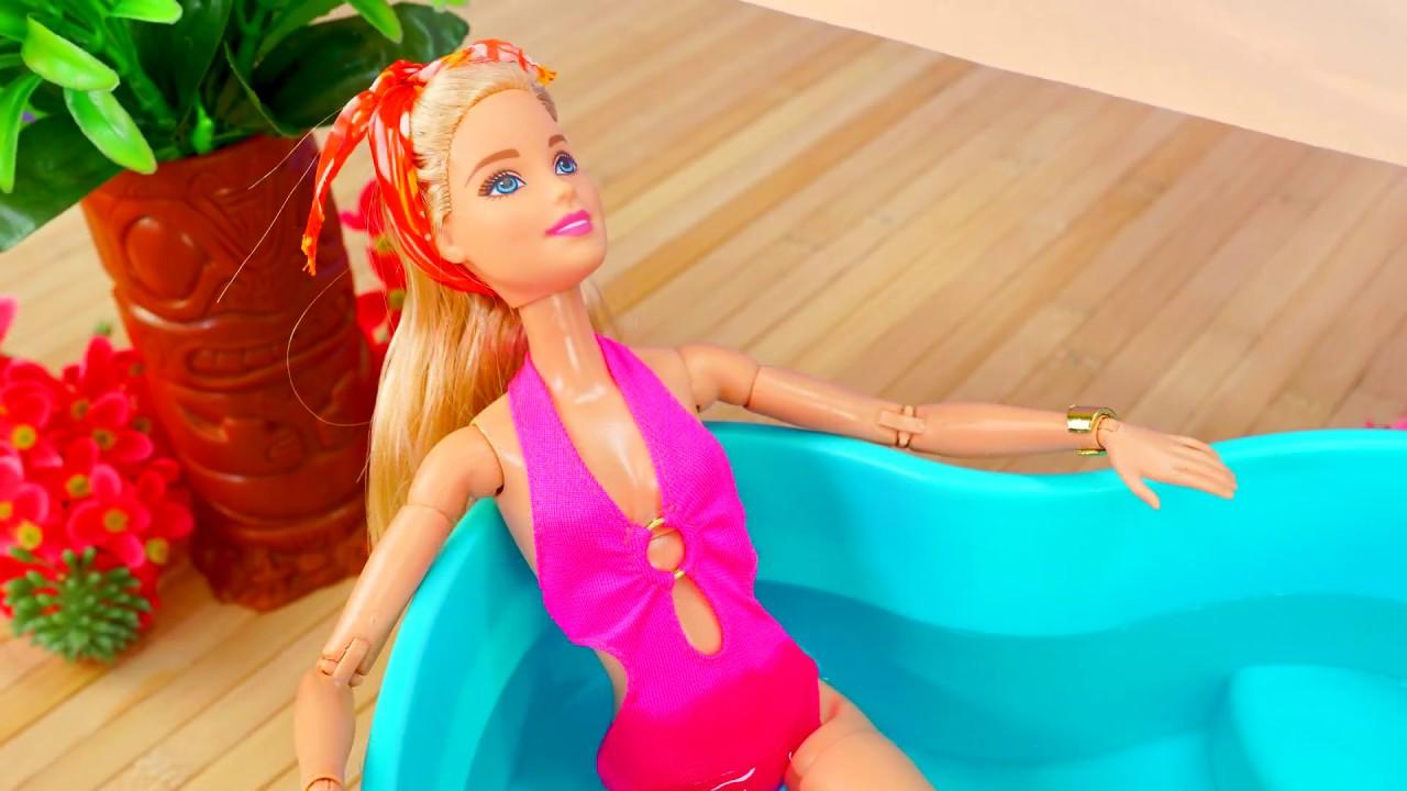 Барби и Кен на отдыху на море. Мультики для детей. - YouTube