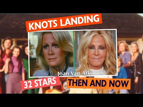 Knots Landing Cast: Then and Now