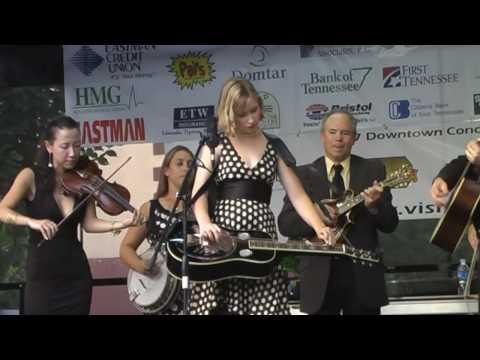 "ETSU Bluegrass Band-  Redux ""The Big Sciota"",  Leah Needham on dobro"