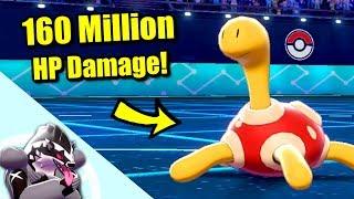 How to Deal 160 Million HP Damage in Pokémon Sword & Shield