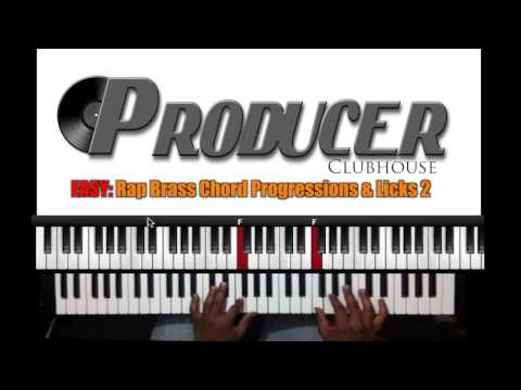 Easy: Rap Brass Chord Progressions and Licks 2