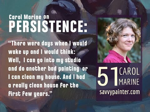 Daily Paintworks founder Carol Marine on the Savvy Painter podcast