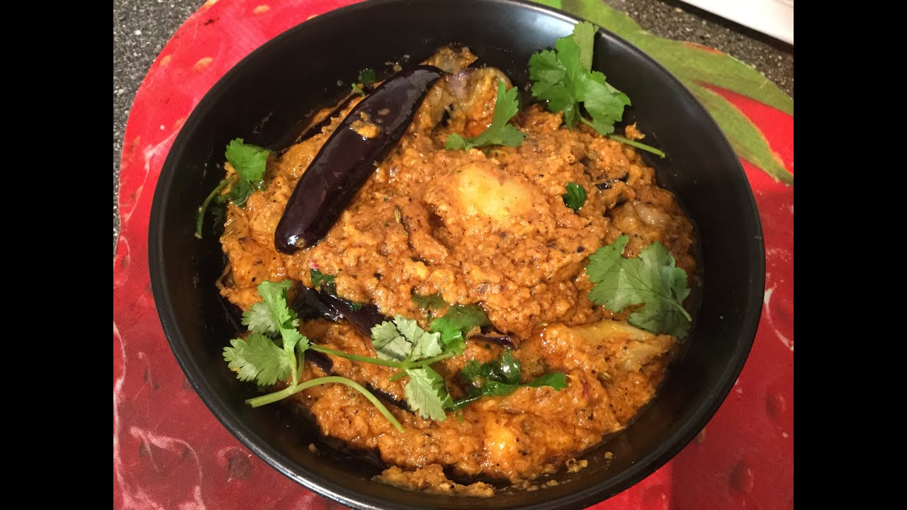 Aloo brinjal pepper curry for rice,dosa,chapathi - YouTube  Aloo brinjal pe...