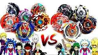 BC Sol VS God Beigoma Academy-TEAM BATTLE- Beyblade Burst Evolution!神 米駒学園 vs BCソル!! ベイブレードバースト神!