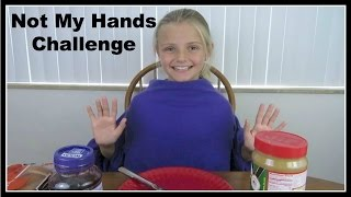 Not My Hands Challenge ~ Jacy and Kacy