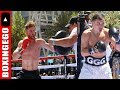 Saul 'Canelo' Alvarez Gennady 'GGG' Golovkin MEDIA DAY Training Highlights REEL