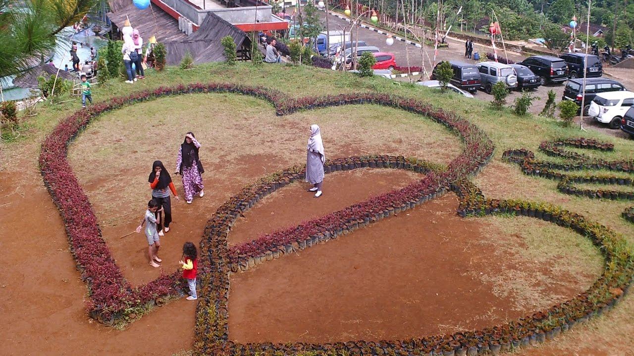 Tempat Wisata Barusen Hill Ciwidey Kabupaten Bandung Youtube