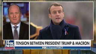 'He's Factually Inaccurate': Army Vet Slams Macron's 'Nationalism' Dig at Pres. Trump