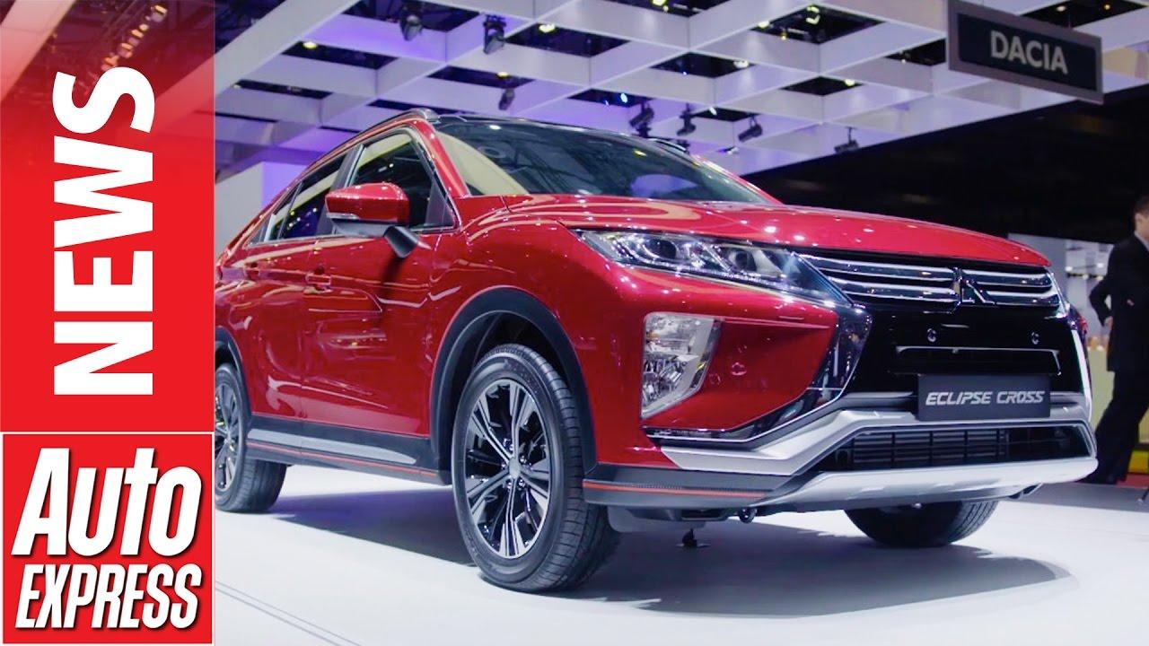 Mitsubishi Eclipse Cross Suv Revealed New Crossover Takes On Compeive Segment