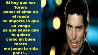 Chayanne- Torero (Letra)