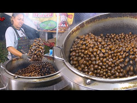 Chestnuts - Japanese Chestnuts and Chinese Chestnuts | Street Food