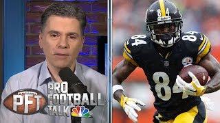 Antonio Brown: Risk outweighs reward with domestic issue, behavior   Pro Football Talk   NBC Sports