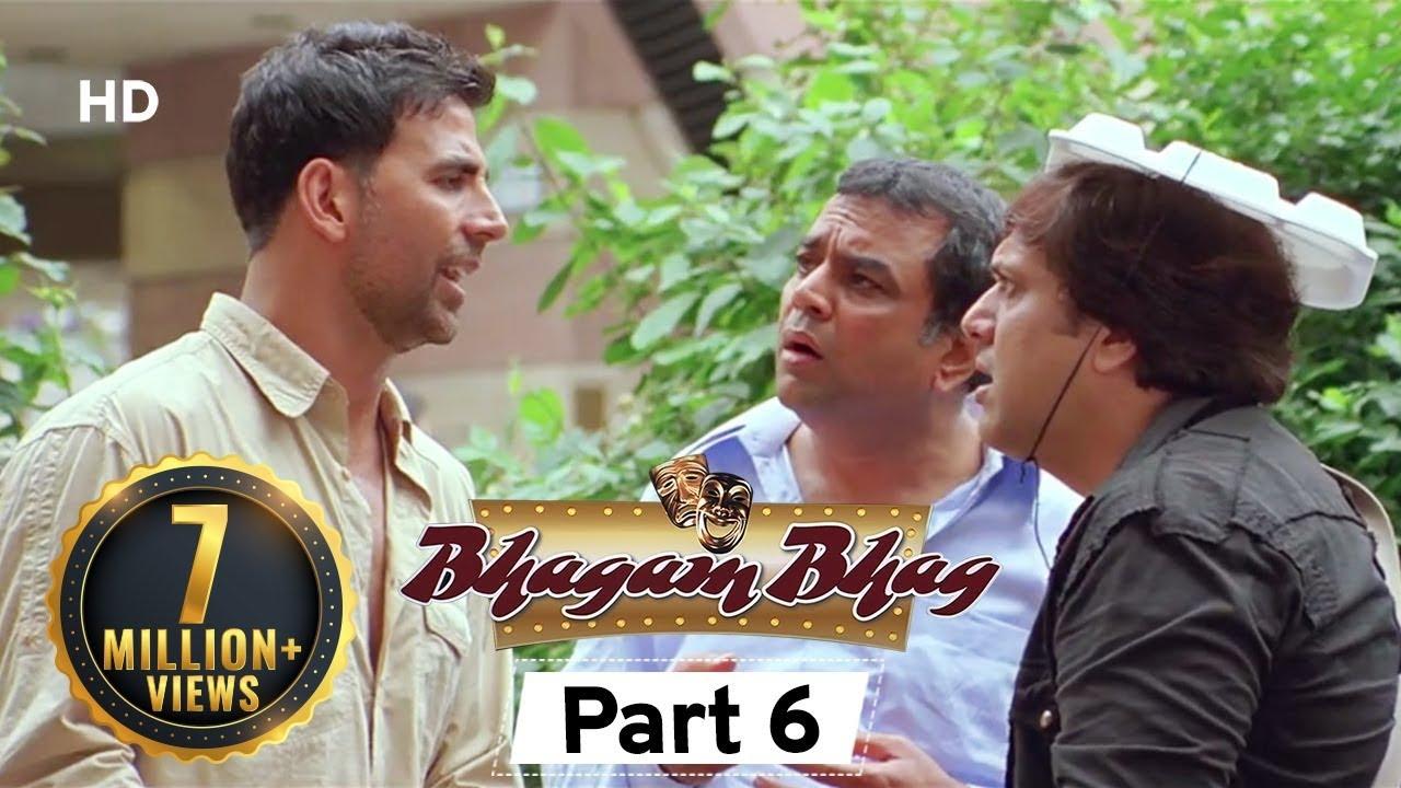 Bhagam Bhag 2006 (HD) - Part 6 - Superhit Comedy Movie - Akshay Kumar -  Paresh Rawal - Rajpal Yadav