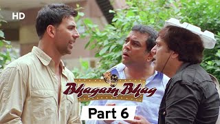 Bhagam Bhag 2006 (HD) - Part 6 - Superhit Comedy Movie - Akshay Kumar -  Paresh Rawal - Rajpal Yadav
