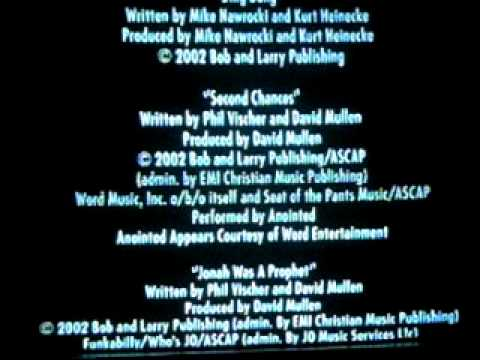Song Under The Credits From VeggieTales Jonah A