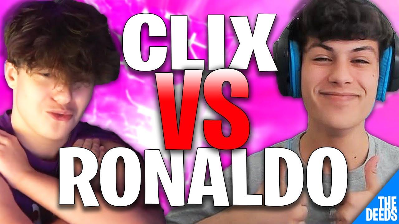 NRG Clix 1 VS 1 NRG Ronaldo | Creative 1v1 *EPIC NA BUILD BATTLES*