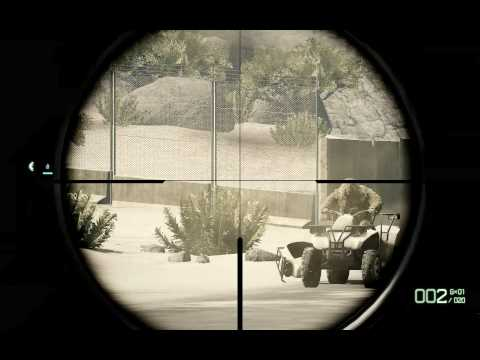 Battlefield BC 2 Sniper Guide Fahrzeug Kills