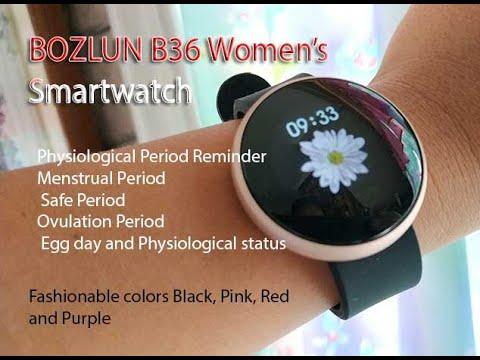Bozlun B36 Womens Smartwatch Review