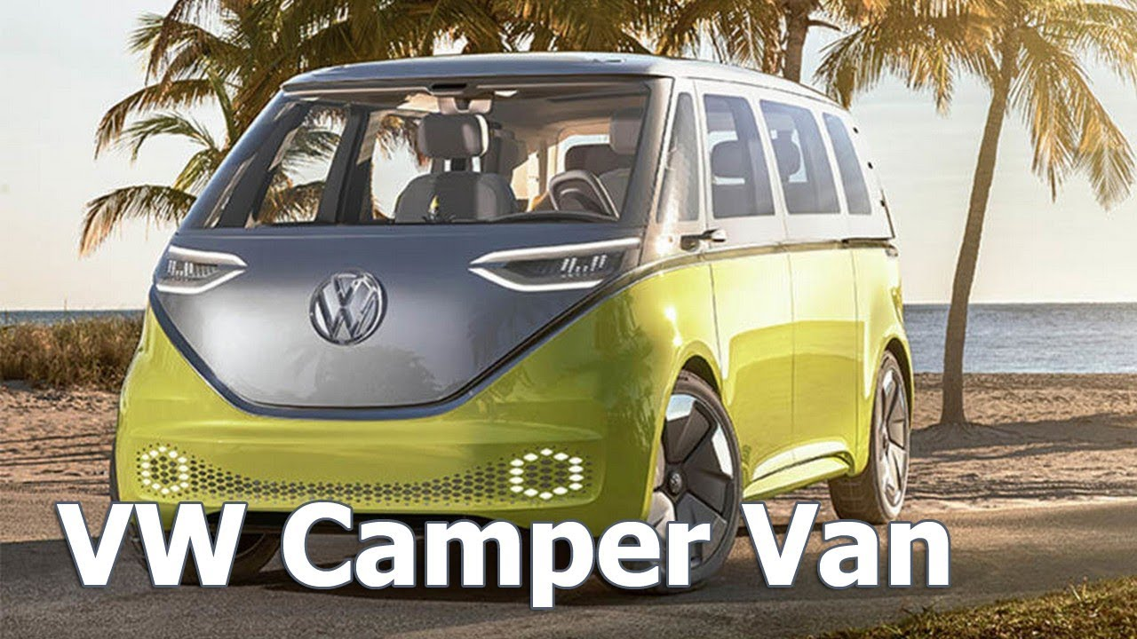 Vw Id Buzz Review 2018 Campervan Electric 2017