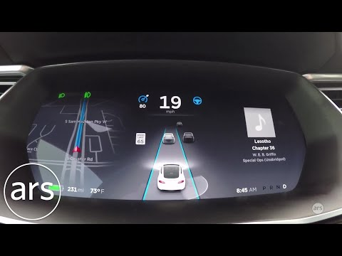 Cruising with Tesla's Autopilot in Houston traffic | Ars Technica