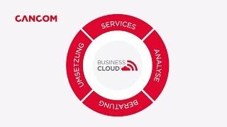 CANCOM BusinessCloud - Das Portfolio für Ihre Mobilität, Flexibilität und Sicherheit