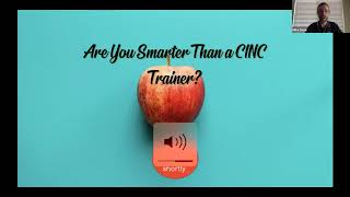 CINC Live Webinar: Open Q&A with CINCU Trainers | June 11, 2020