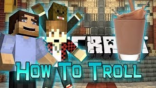 Minecraft How To - Troll Your Friends [1 - TheNoochM]