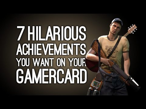 7 Hilarious Achievements You Want on Your Gamercard