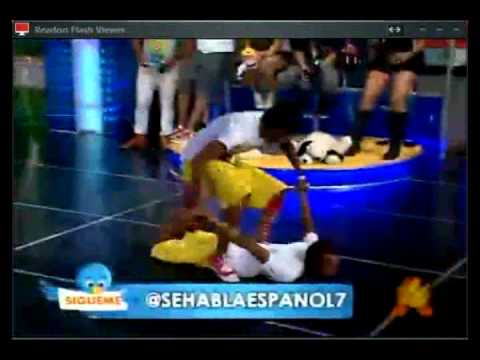 Aqui Se Habla Español - The New Boy Semi Final.wmv