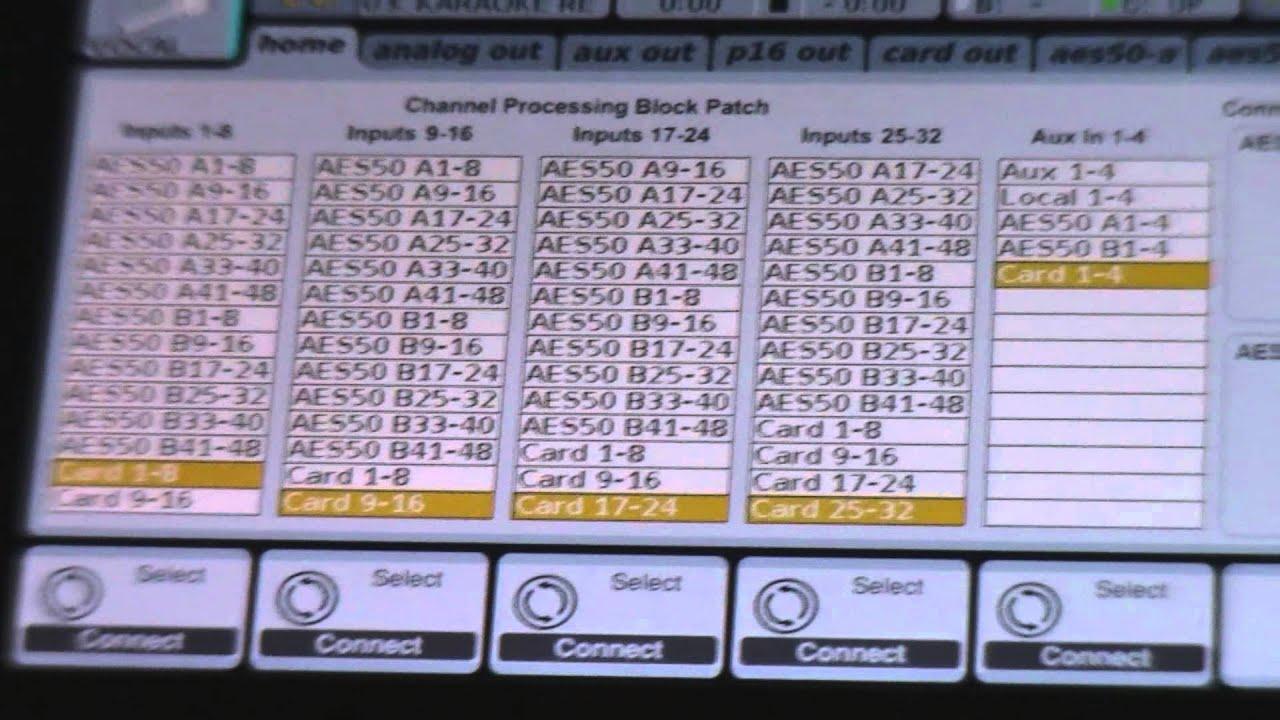 behringer x32 configuracion de entradas youtube rh youtube com behringer x32 compact manual español behringer x32 manual español pdf