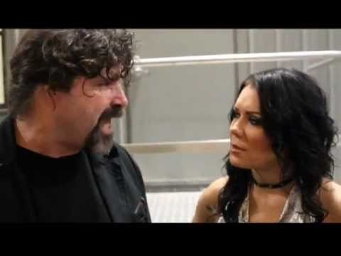 Backstage Footage Of Mick Foley And Chyna Youtube